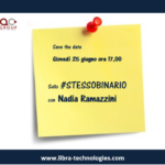 Save the date – Sullo #STESSOBINARIO con Nadia Ramazzini