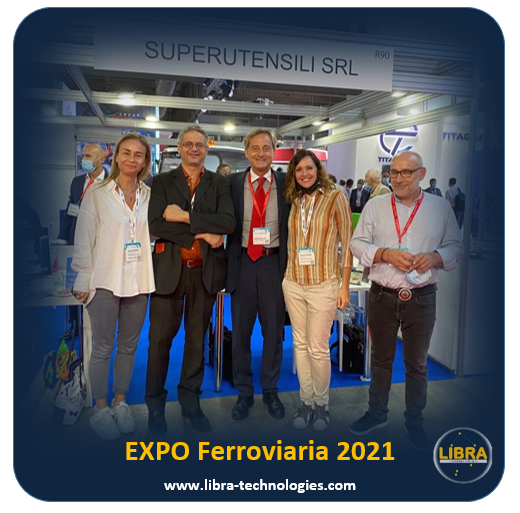LIBRA - Expo Ferroviaria 2021 - Superutensili