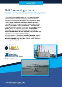 Copertina depliant Aeroporti