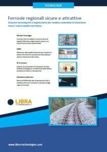 Copertina depliant Ferrovie regionali