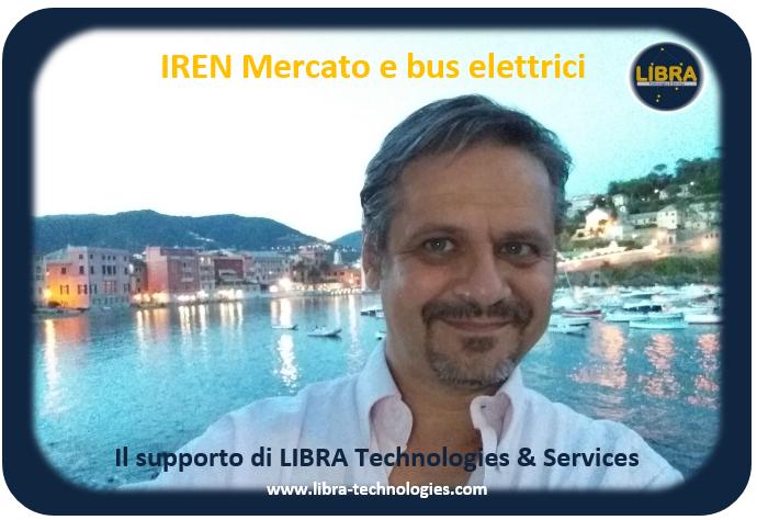 LIBRA - IREN Mercato-Bus elettrici
