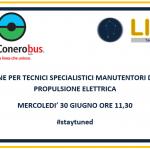 Corso veicoli elettrici Conerobus e LIBRA: un webinar ad hoc a fine giugno…