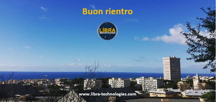 LIBRA - Buon rientro 2021