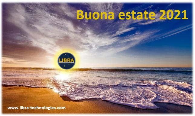 LIBRA - Buone ferie 2021